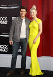 Tom Cruise et Julianne Hough Image libre de droits