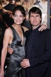 Tom Cruise, Katie Holmes stockfotos