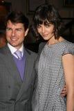 Tom Cruise, Katie Holmes lizenzfreies stockfoto