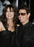 Tom Cruise and Katie Holmes Stock Photos