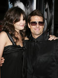 Tom Cruise and Katie Holmes Royalty Free Stock Image