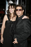 Tom Cruise and Katie Holmes Royalty Free Stock Images