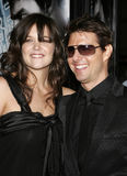 Tom Cruise and Katie Holmes Stock Image