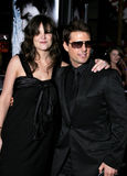 Tom Cruise and Katie Holmes Stock Photography