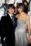 Tom Cruise and Katie Holmes Stock Images