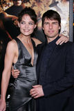Tom Cruise,Katie Holmes Stock Photos