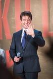 Tom Cruise - 'krawędź jutro' Japonia premiera Obrazy Royalty Free