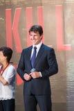 Tom Cruise - 'krawędź jutro' Japonia premiera Fotografia Stock