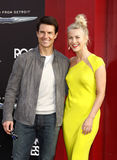 Tom Cruise och Julianne Hough Arkivfoto
