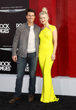 Tom Cruise och Julianne Hough royaltyfria bilder
