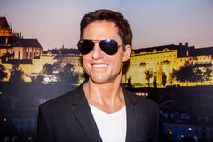 Tom Cruise, Prag lizenzfreie stockfotografie