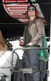 Tom Cruise que asiste a Daytona 500 imagenes de archivo