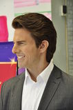 Tom Cruise's life-size wax replica stock images