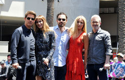 Tom Cruise, Sofia Boutella, Jake Johnson, Annabelle Wallis, Alex Kurtzman Στοκ Φωτογραφία