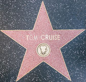 Tom cruise star Royalty Free Stock Images
