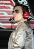 Tom Cruise uczęszcza Daytona 500 zdjęcie stock