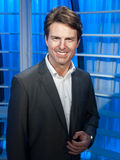 Tom Cruise wax statue. At the famous Madame Tussaud's museum in Bangkok, Thailand Stock Photo