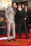 Tom Cruise, Will Smith stockfotos