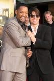 Tom Cruise, Will Smith stockbilder