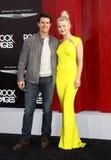 Tom Cruise y Julianne Hough Imágenes de archivo libres de regalías