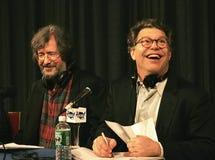 Tom Davis et Al Franken Photos libres de droits