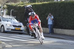 Tom Dumoulin-Radfahrer Holländer Lizenzfreies Stockfoto