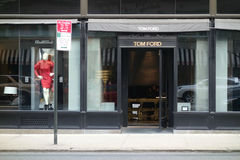Tom Ford sklep Obrazy Royalty Free