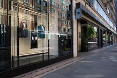 Tom Ford sklep w ulicie Londyn, Anglia Obraz Royalty Free