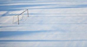 tom fotbollstadion Fotografering för Bildbyråer