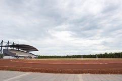 Tom fotbollstadion Royaltyfri Fotografi