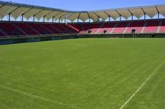 tom fotbollstadion Arkivfoto