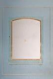 Tom fotoram, sida av det forntida fotoalbumet Royaltyfria Foton
