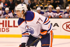 Tom Gilbert Edmonton Oilers Royalty Free Stock Photo