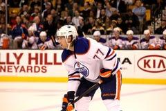 Tom Gilbert Edmonton Oilers Stock Images