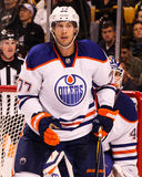 Tom Gilbert, Edmonton Oilers. Royalty Free Stock Photos