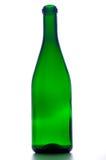 tom glass green för flaska Arkivbild