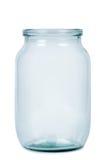 tom glass jar fotografering för bildbyråer