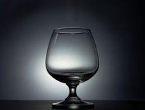 Tom glass silhouette fotografering för bildbyråer
