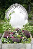 Tom gravsten Royaltyfri Bild