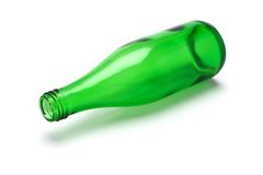 tom green för flaska Royaltyfri Fotografi