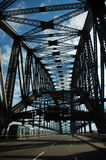 tom hamn för bro Royaltyfri Bild