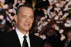 "Tom Hanks. Arrives for the premiere of ""Saving Mr.Banks"" which is being screened at the Odeon Leicester Square as part of the bfi London Film Festival 2013 Royalty Free Stock Image"