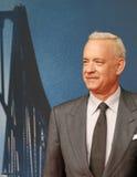 Tom Hanks deltar i tysk premiär av bron av spioner i den ZOOPalast bion på November 13, 2015 i Berlin, Tyskland Fotografering för Bildbyråer