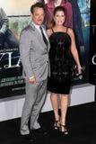 Tom Hanks e Rita Wilson Immagine Stock