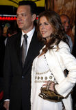 Tom Hanks and Rita Wilson. Attend the World Premiere of `Charlie Wilson`s War` held at the Universal Studios in Hollywood, California, United States on December Royalty Free Stock Photography
