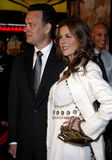 Tom Hanks and Rita Wilson. Attend the World Premiere of `Charlie Wilson`s War` held at the Universal Studios in Hollywood, California, United States on December Royalty Free Stock Photos