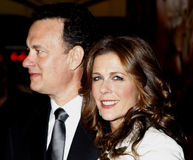 Tom Hanks and Rita Wilson. Attend the World Premiere of `Charlie Wilson`s War` held at the Universal Studios in Hollywood, California, United States on December Stock Photography