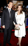 Tom Hanks and Rita Wilson. Attend the World Premiere of `Charlie Wilson`s War` held at the Universal Studios in Hollywood, California, United States on December Stock Images