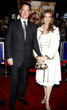 Tom Hanks and Rita Wilson. Attend the World Premiere of `Charlie Wilson`s War` held at the Universal Studios in Hollywood, California, United States on Monday Royalty Free Stock Photo