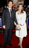Tom Hanks and Rita Wilson. Attend the World Premiere of `Charlie Wilson`s War` held at the Universal Studios in Hollywood, California, United States on December Royalty Free Stock Images